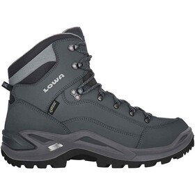Lowa Renegade GTX Zapatillas Mid Hombre, graphite/light grey